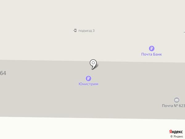 Восторг на карте Первоуральска