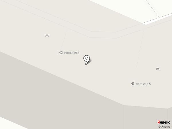 ЖЭУ №6 на карте Нижнего Тагила