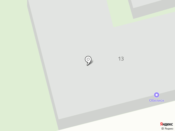 Обелиск на карте Ревды