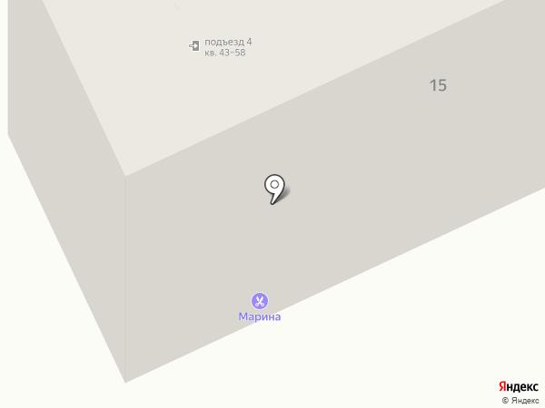 Моника на карте Нижнего Тагила