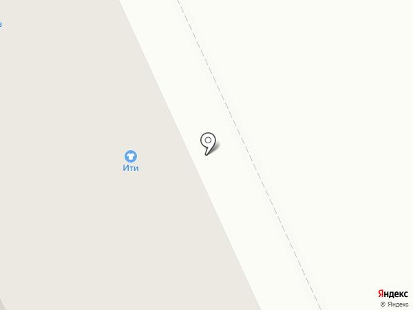 Надёжная на карте Нижнего Тагила
