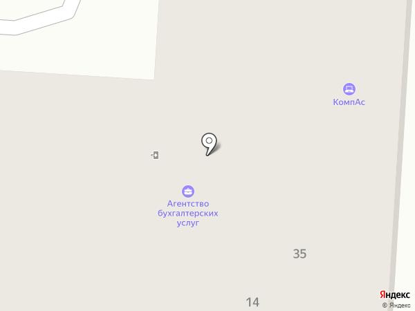 КомпАС на карте Первоуральска