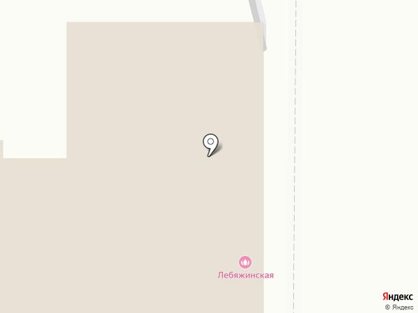 Лебяжинская на карте Нижнего Тагила