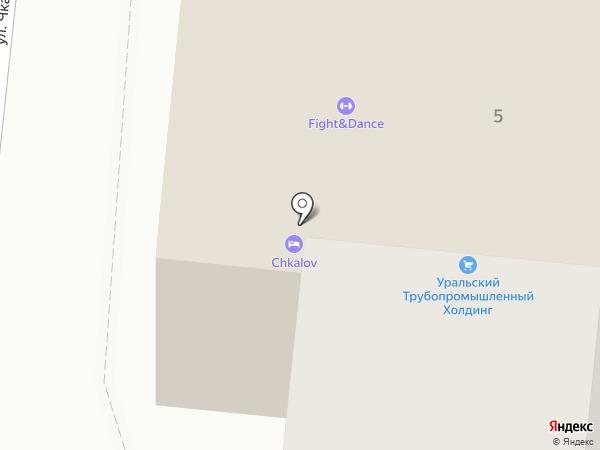 Элит-Строй на карте Первоуральска