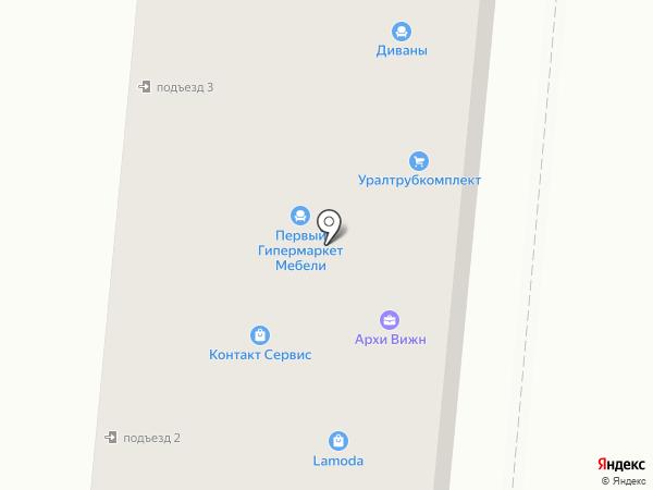 Галерея дверей и окон на карте Первоуральска