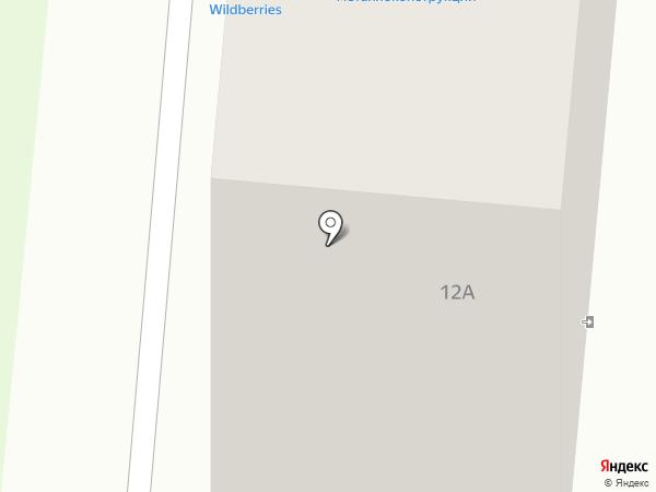 Чайка на карте Первоуральска