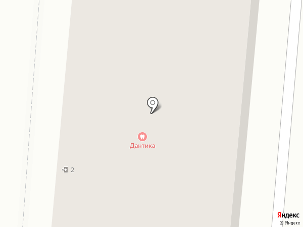 Дантика на карте Первоуральска