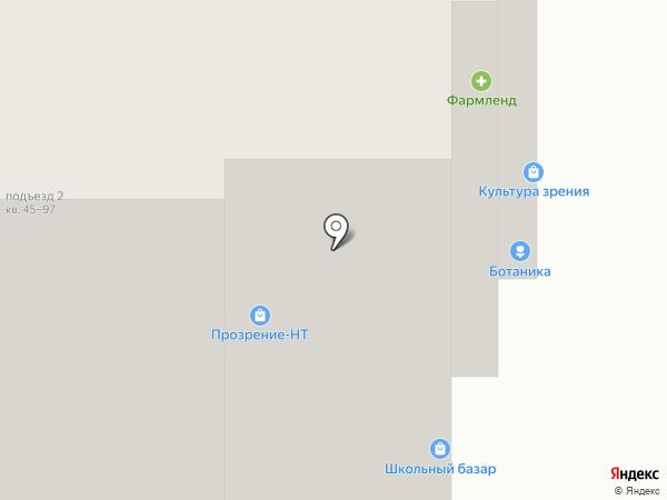 Уралнет на карте Нижнего Тагила