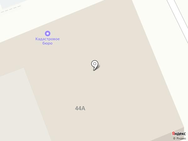 Кадастровое бюро на карте Нижнего Тагила