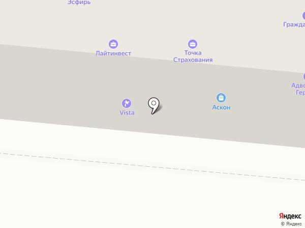 ПАНОРАМА на карте Первоуральска