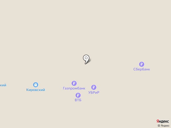 Кировский на карте Нижнего Тагила