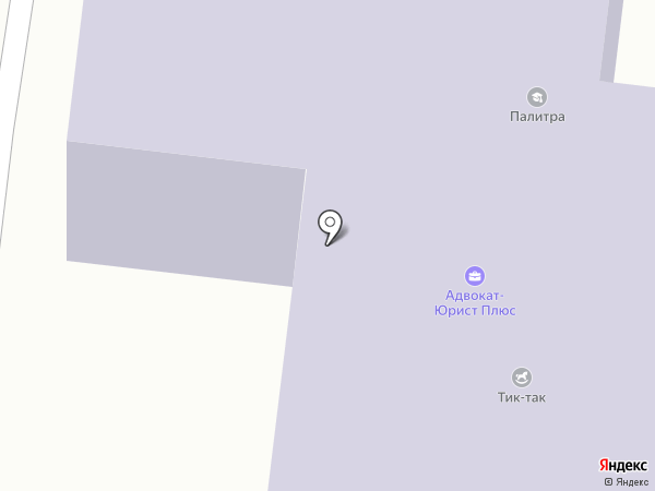 Силуэт на карте Первоуральска