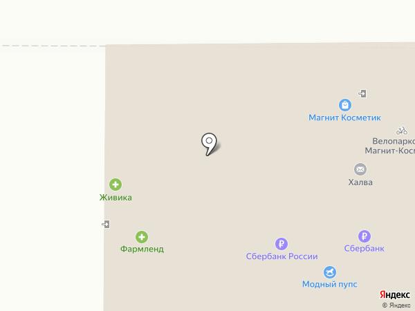 Конфетки-бараночки на карте Нижнего Тагила