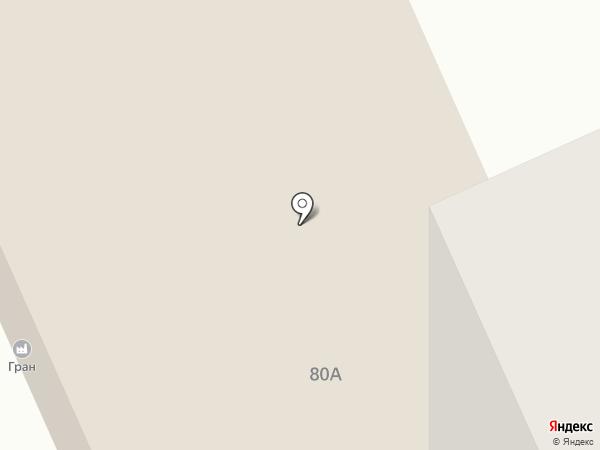 Уралпрофстрой на карте Нижнего Тагила
