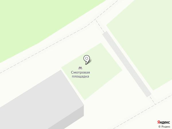 Спартак на карте Нижнего Тагила