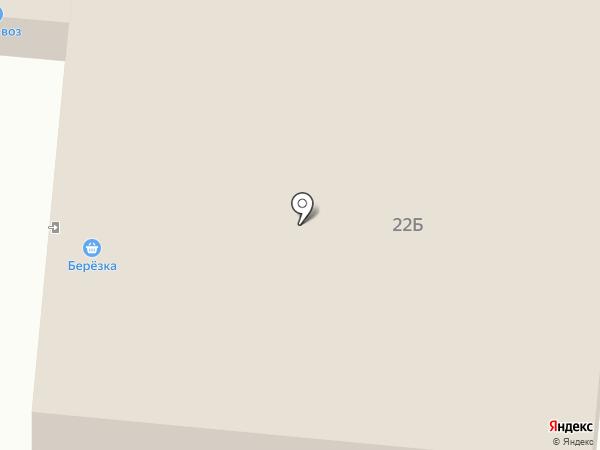 Берёзка на карте Нижнего Тагила