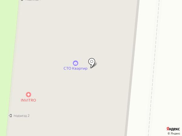 Карапуз на карте Первоуральска