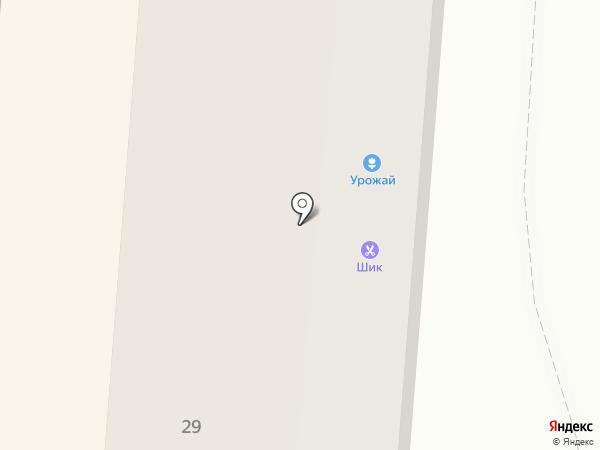 Швея на карте Первоуральска