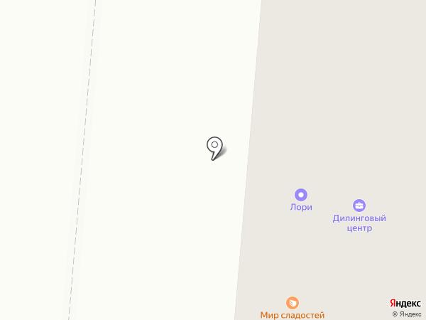 ЛОРИ на карте Первоуральска