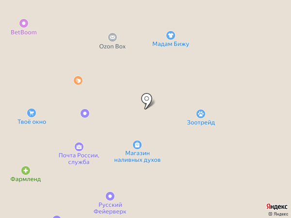Мастерская по ремонту часов на ул. Трубников на карте Первоуральска