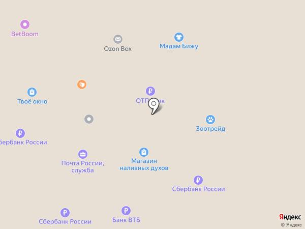 АСМ-Мебель на карте Первоуральска