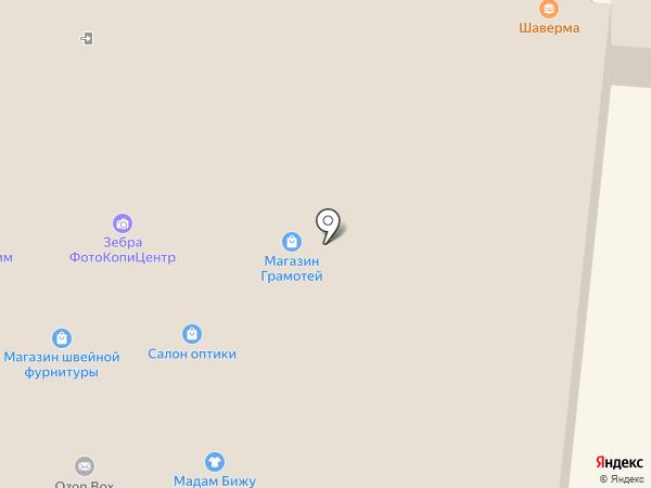 Салон оптики на карте Первоуральска