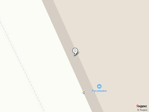 УАЗ на карте Нижнего Тагила