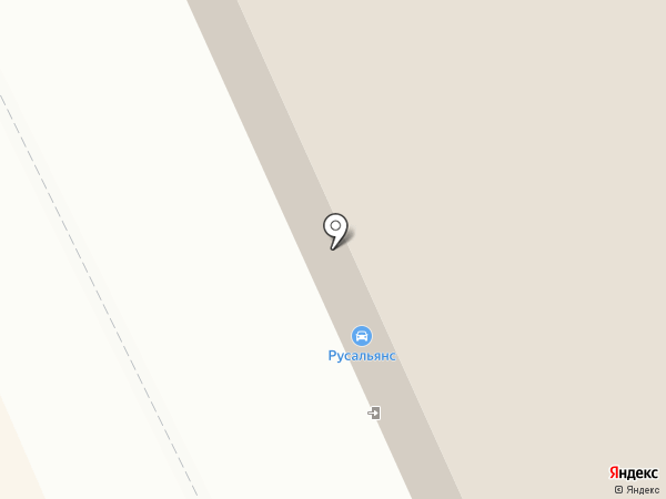 CHEVROLET NIVA на карте Нижнего Тагила