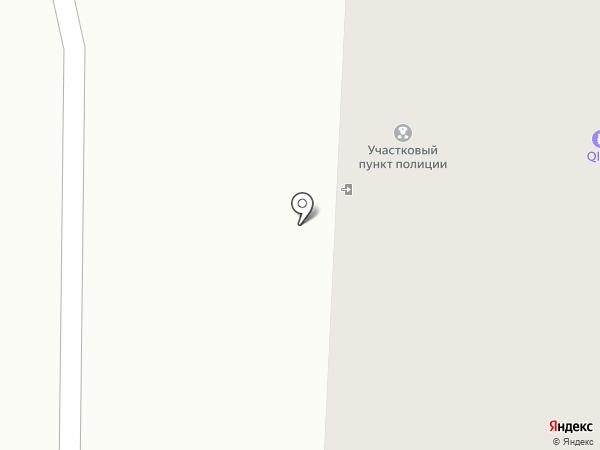 Участковый пункт полиции на карте Первоуральска