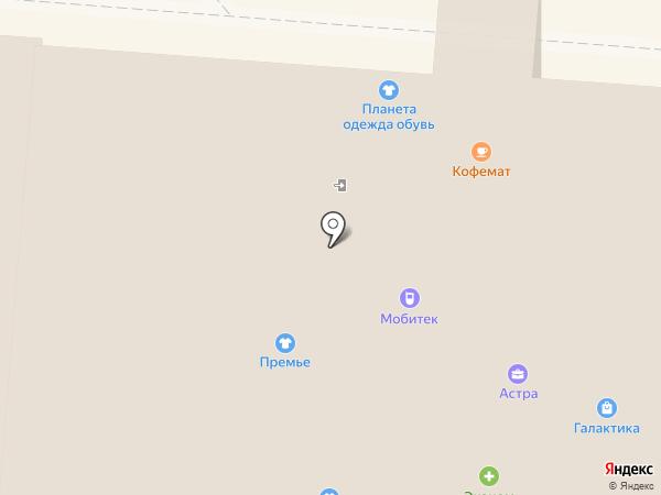 Дикси на карте Первоуральска