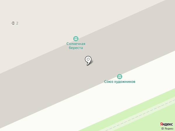 Художественная мастерская на карте Нижнего Тагила