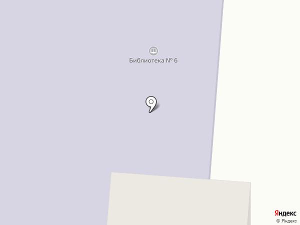 Городская библиотека №6 на карте Первоуральска