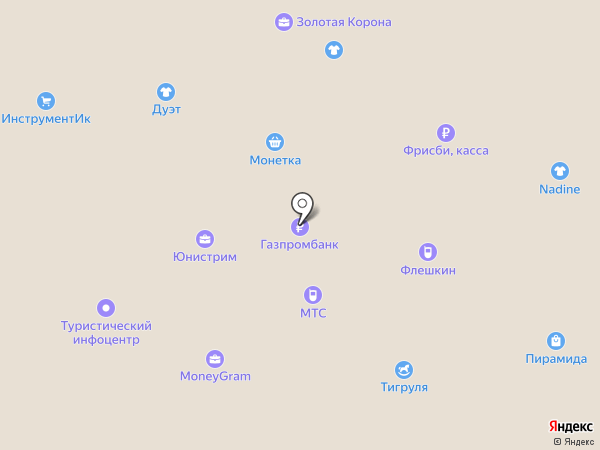 Бутик Джинсы на карте Первоуральска