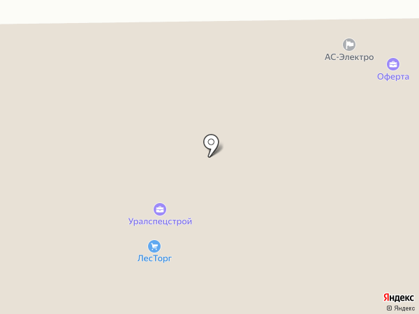 ШопТрейд на карте Нижнего Тагила