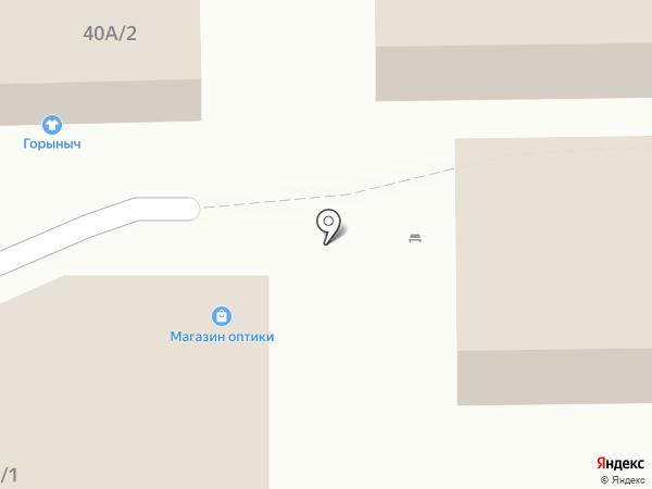 Магазин оптики на карте Нижнего Тагила