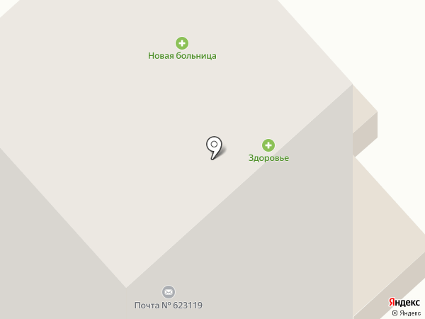 Почтовое отделение №19 на карте Первоуральска