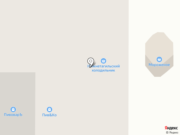 ПИВ & Ко на карте Нижнего Тагила