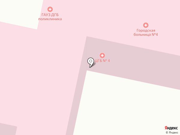 Детская городская поликлиника №4 на карте Нижнего Тагила
