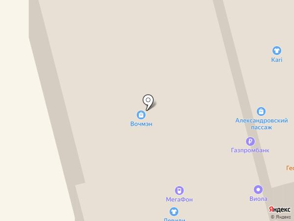 POLANI на карте Нижнего Тагила