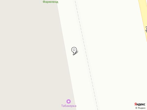 Аквамир на карте Нижнего Тагила