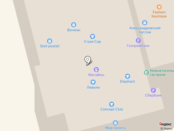 Shika на карте Нижнего Тагила