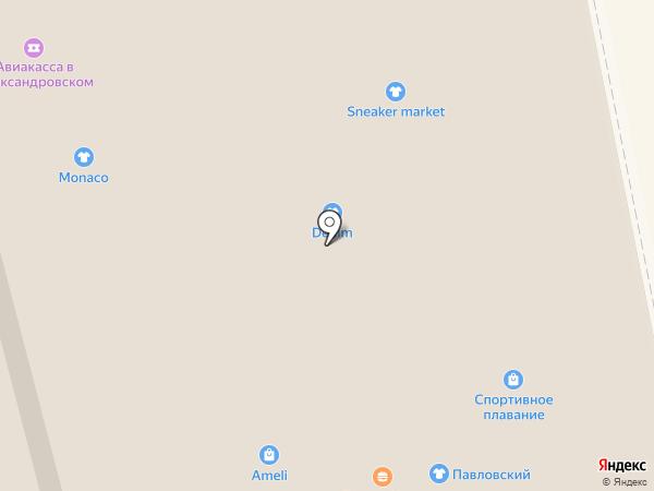 Бретельки на карте Нижнего Тагила