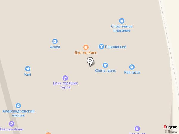 Жук на карте Нижнего Тагила