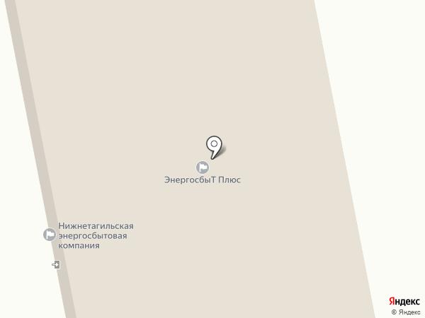 Тенториум на карте Нижнего Тагила