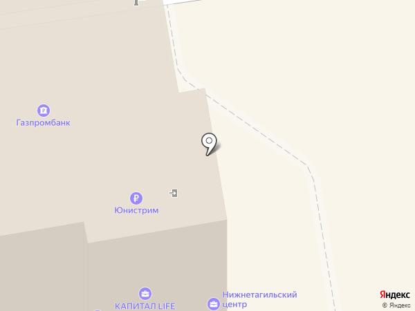 Тензор на карте Нижнего Тагила
