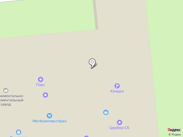 СА ЭкоТех на карте Первоуральска