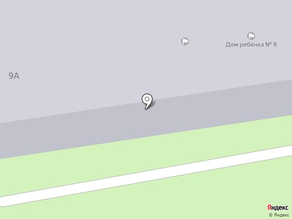 Специализированный дом ребенка №9 на карте Первоуральска