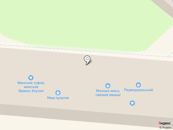 Первоуральский, СПК на карте Первоуральска