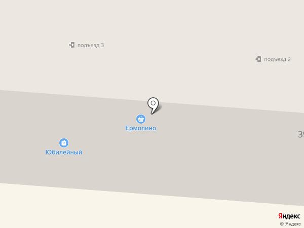 Юбилейный на карте Первоуральска