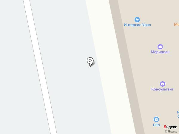 Леопак на карте Первоуральска